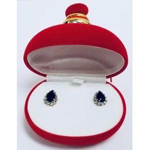Jewelry - 14k GOLD DIAMOND AND PRECIOUS STONE EARRINGS